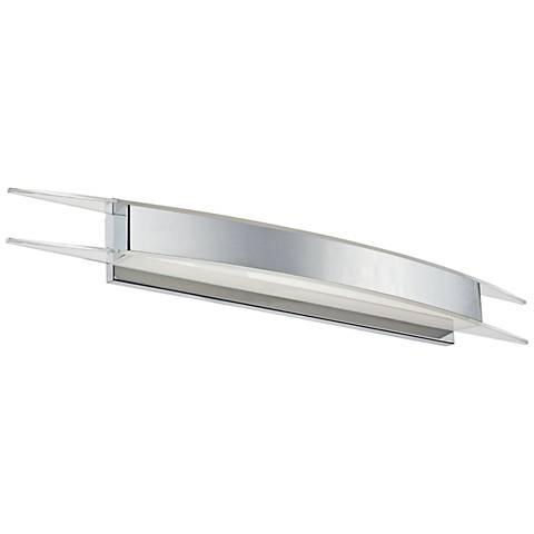 "Modern Forms Arc 38"" Wide Chrome LED Bath Light"