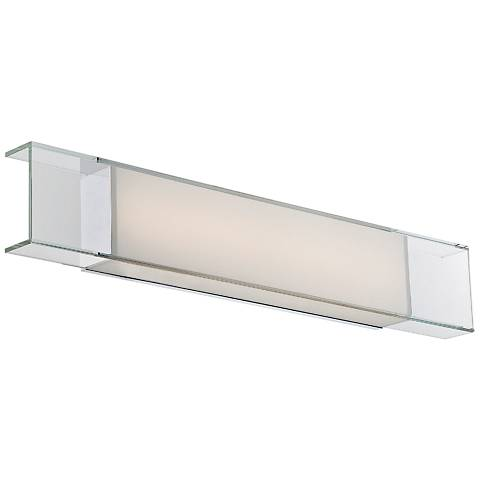 "Modern Forms Cloud 28"" Wide Chrome LED Bath Light"