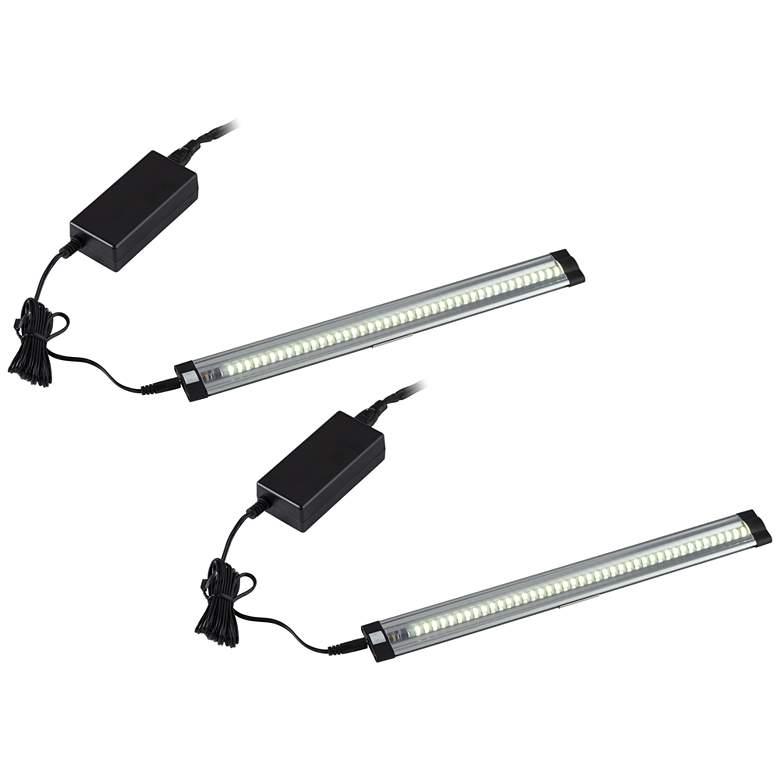 """Grayson Slim 24"""" Wide LED Under Cabinet Light Kit Set of 2"""