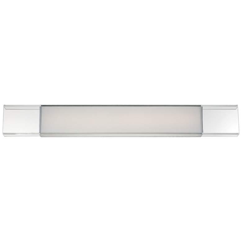 "Modern Forms Cloud 36"" Wide Chrome LED Bath Light"