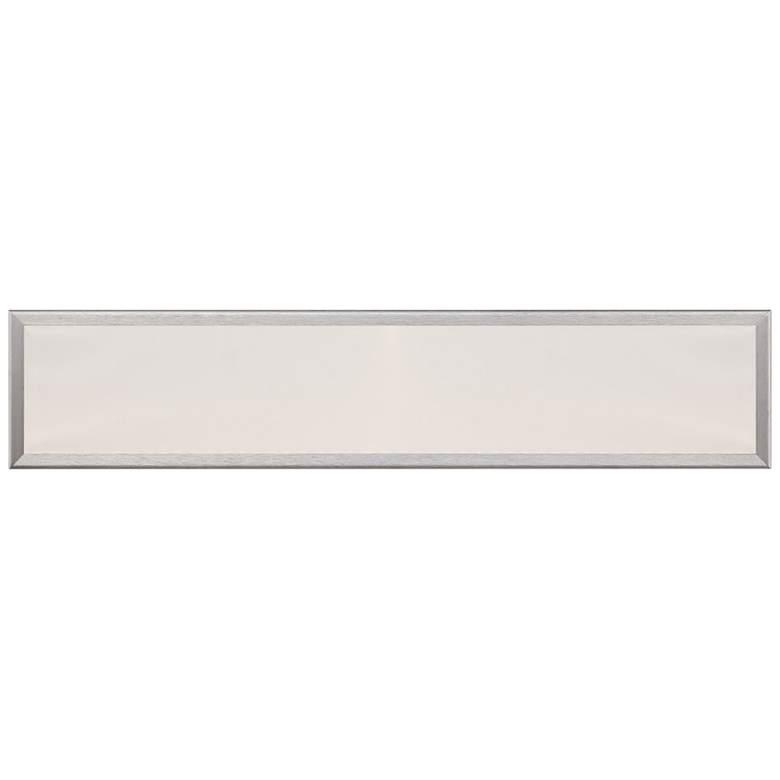"Modern Forms Neo 24"" Wide Brushed Aluminum LED Bath Light"