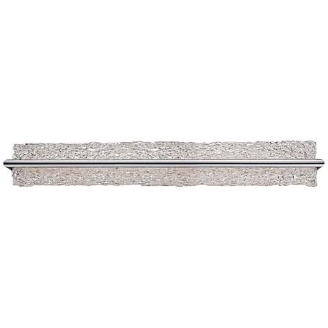 "Modern Forms Vetri 39"" Wide Brushed Aluminum LED Bath Light"