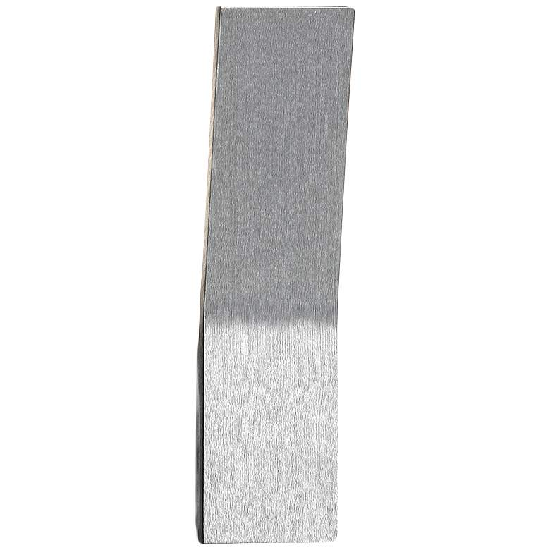 """Modern Forms Blade 11"""" High Brushed Aluminum LED Wall Sconce"""