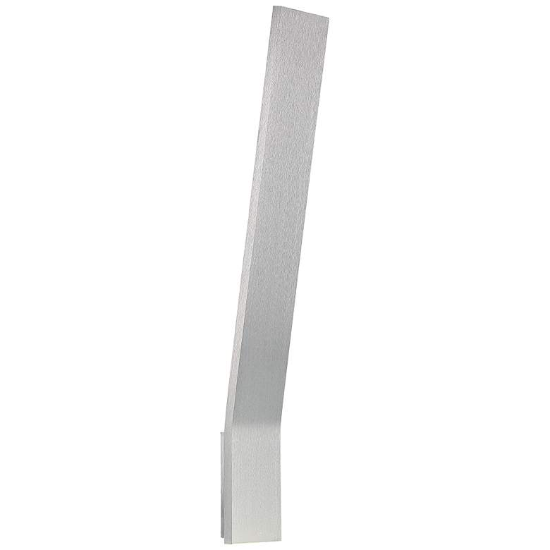 "Modern Forms Blade 22"" High Brushed Aluminum LED Wall Sconce"