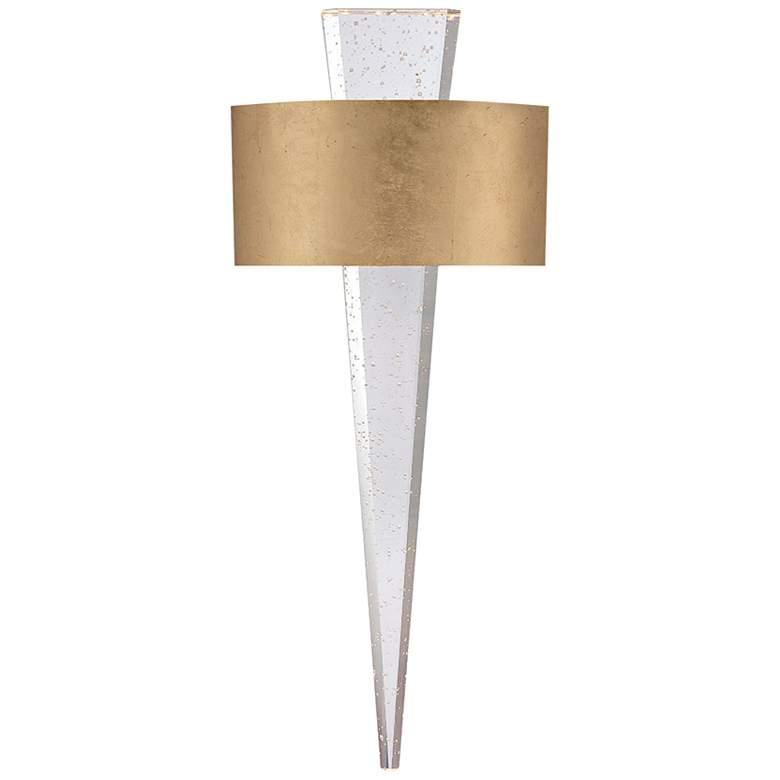 """Modern Forms Palladian 23 3/4""""H Gold Leaf LED Wall Sconce"""
