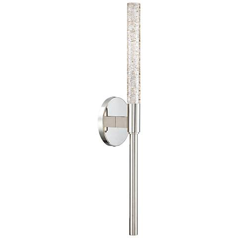 "Modern Forms Magic 21"" High Polished Nickel LED Wall Sconce"