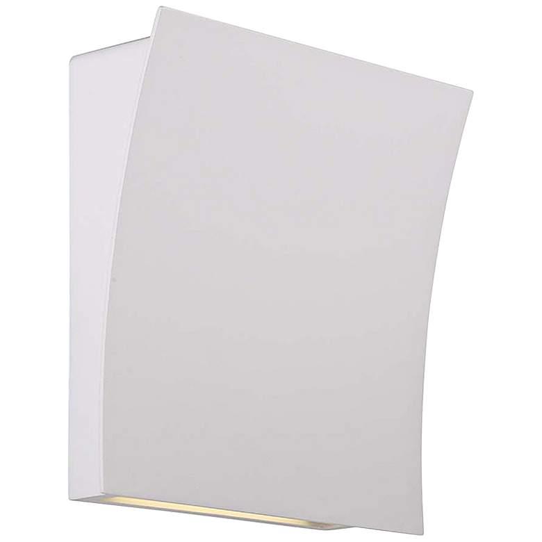 "Modern Forms Slide 10"" High White LED Wall Sconce"