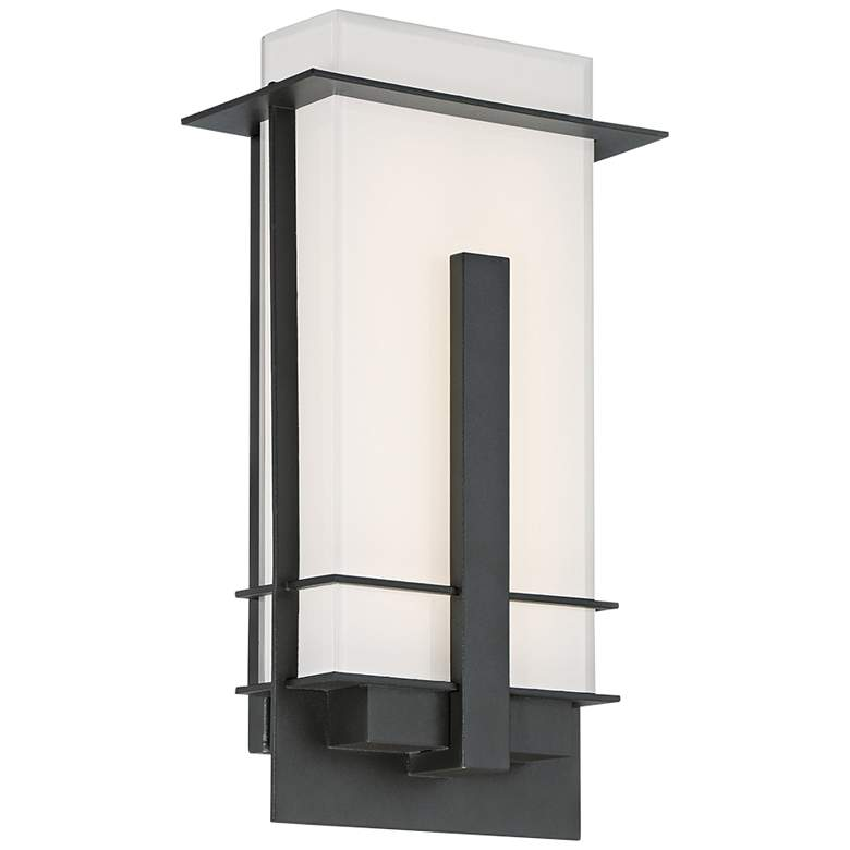 """Modern Forms Kyoto 14"""" High Bronze LED Outdoor Wall Light"""