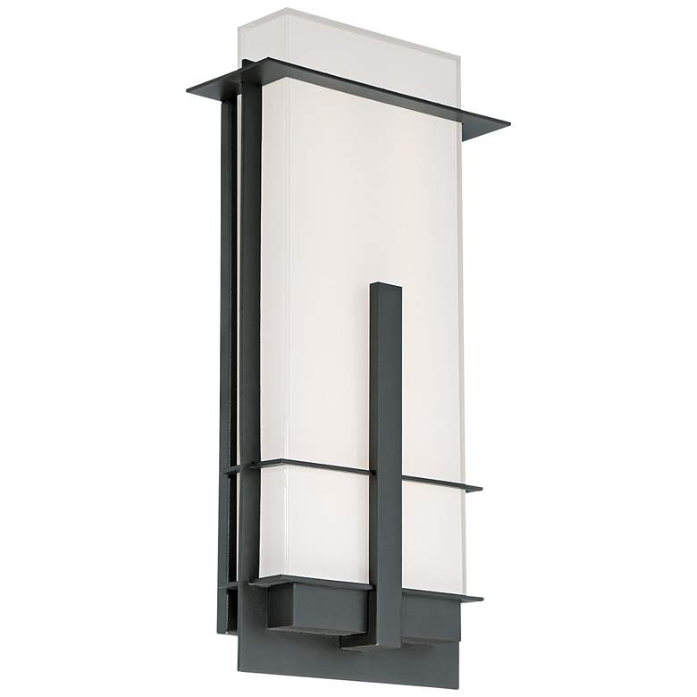 "Modern Forms Kyoto 20"" High Bronze LED Outdoor"