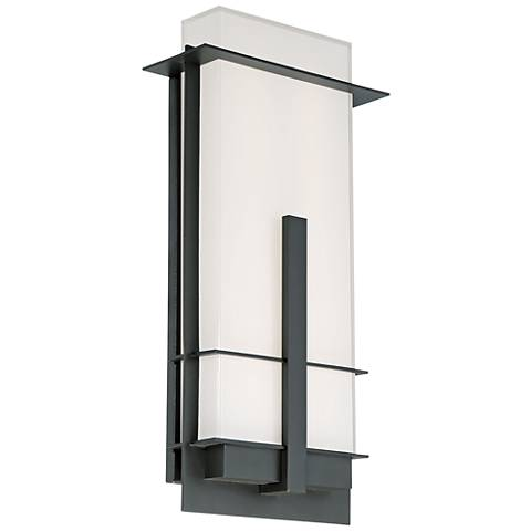 """Modern Forms Kyoto 20"""" High Bronze LED Outdoor Wall Light"""