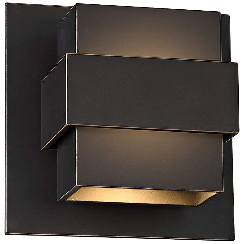 "Modern Forms Pandora 7"" High Bronze LED Outdoor"
