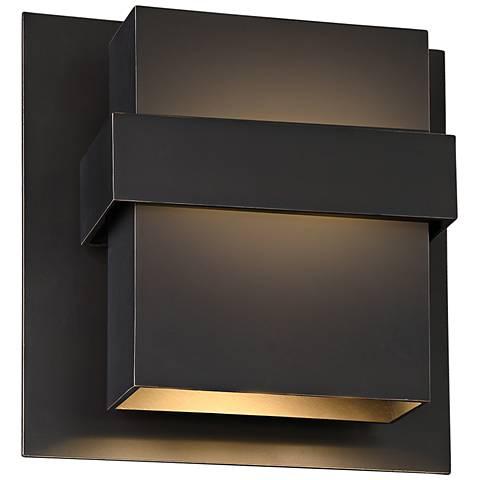 """Modern Forms Pandora 11"""" High Bronze LED Outdoor Wall Light"""