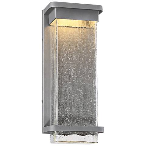 """Modern Forms Vitrine 16""""H Graphite LED Outdoor Wall Light"""