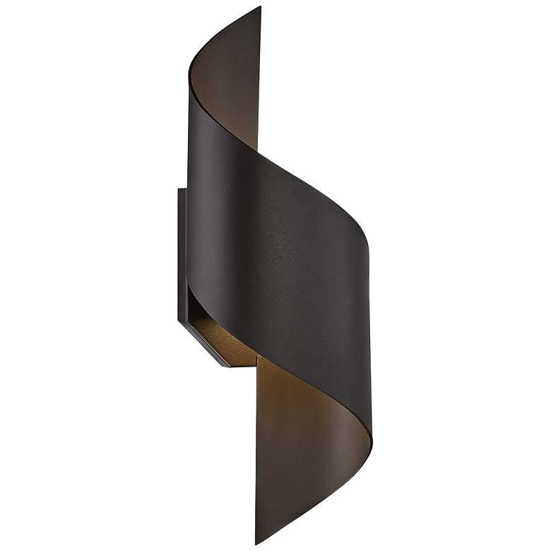 "Modern Forms Helix 24"" High Bronze LED Outdoor Wall Light"