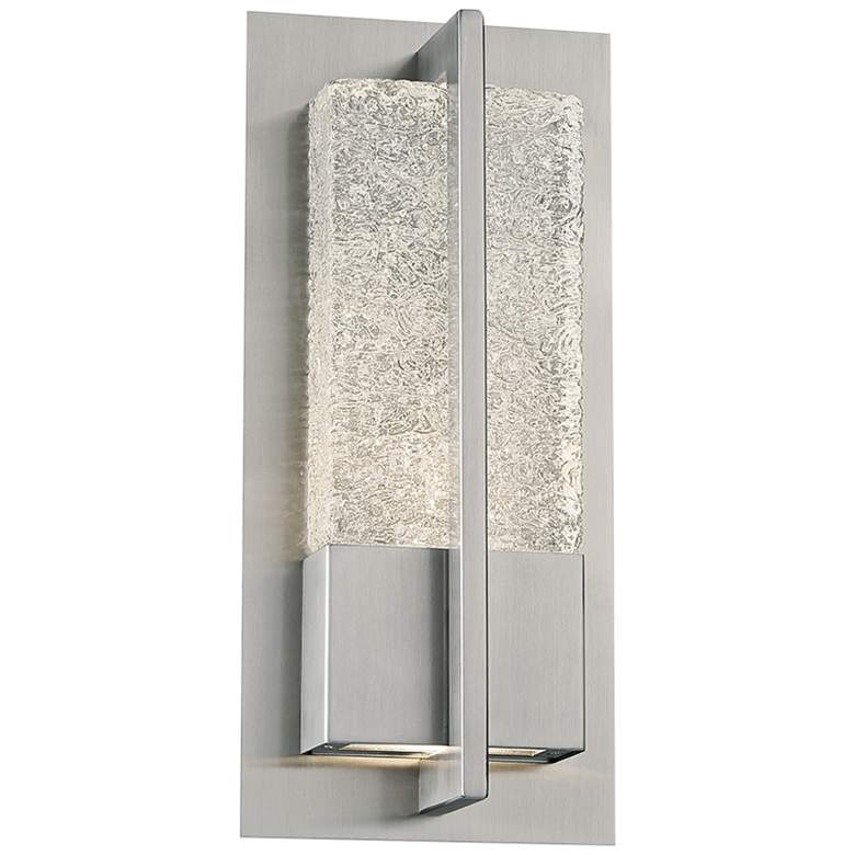 """Omni 12"""" High Stainless Steel LED Outdoor Wall Light"""