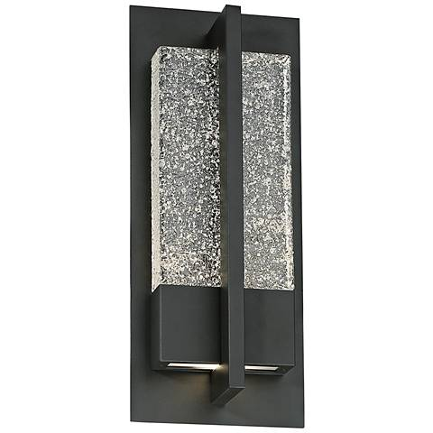 "Modern Forms Omni 16"" High Bronze LED Outdoor Wall Light"