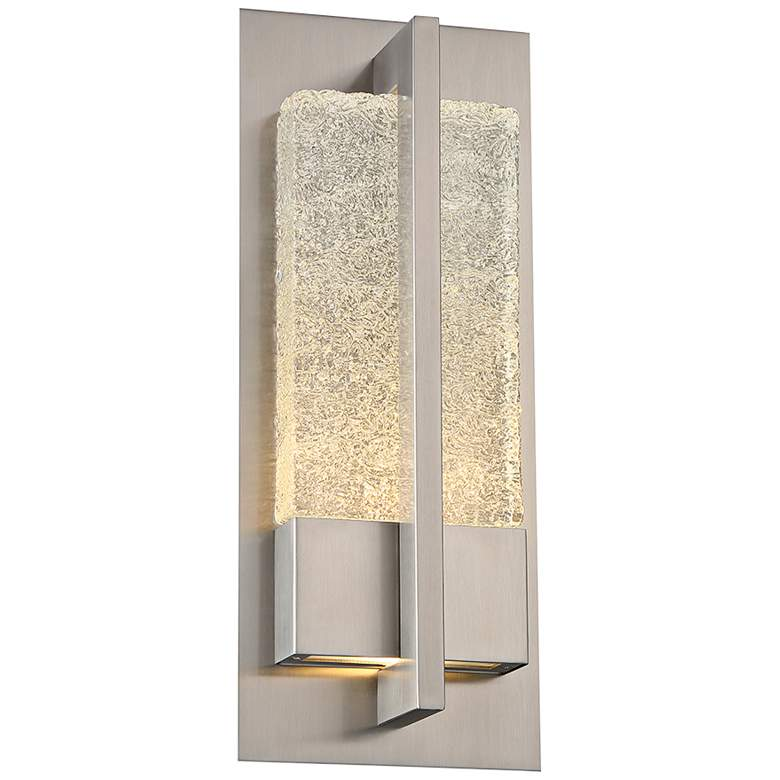 """Omni 16"""" High Stainless Steel LED Outdoor Wall Light"""