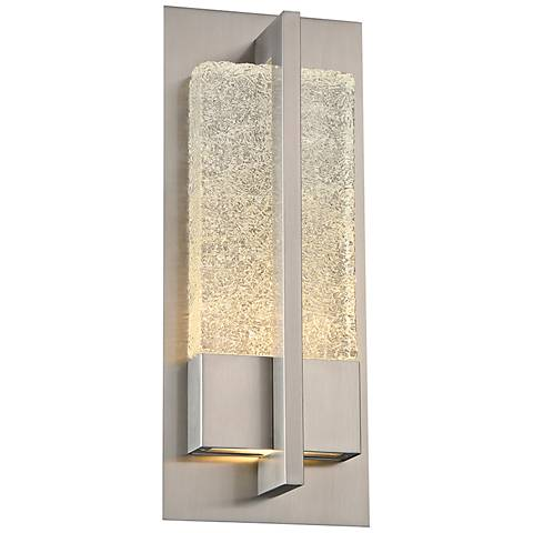"Omni 16"" High Stainless Steel LED Outdoor Wall Light"