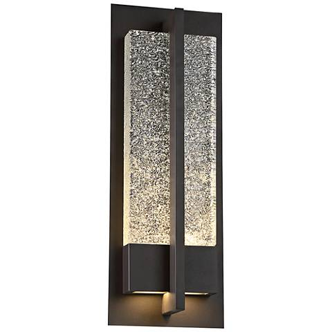 "Modern Forms Omni 20"" High Bronze LED Outdoor Wall Light"