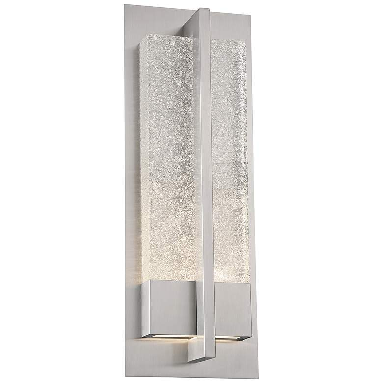"Omni 20"" High Stainless Steel LED Outdoor Wall Light"
