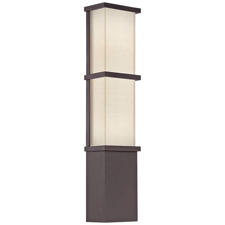 "Modern Forms Elevation 22""H Bronze LED Outdoor Wall Light"