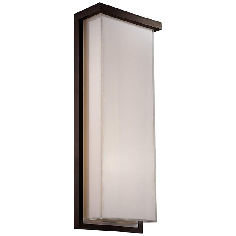 "Modern Forms Ledge 20"" High Bronze LED Outdoor"