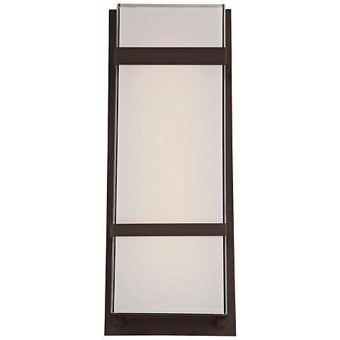 """Modern Forms Phantom 21"""" High Bronze LED Outdoor Wall Light"""