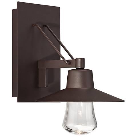 """Modern Forms Suspense 11"""" High Bronze LED Outdoor Wall Light"""