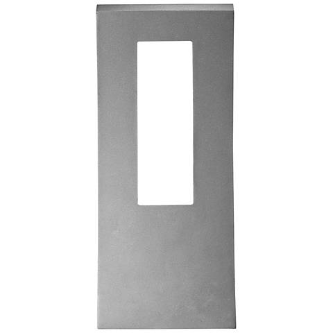 "Modern Forms Dawn 16"" High Graphite LED Outdoor Wall Light"