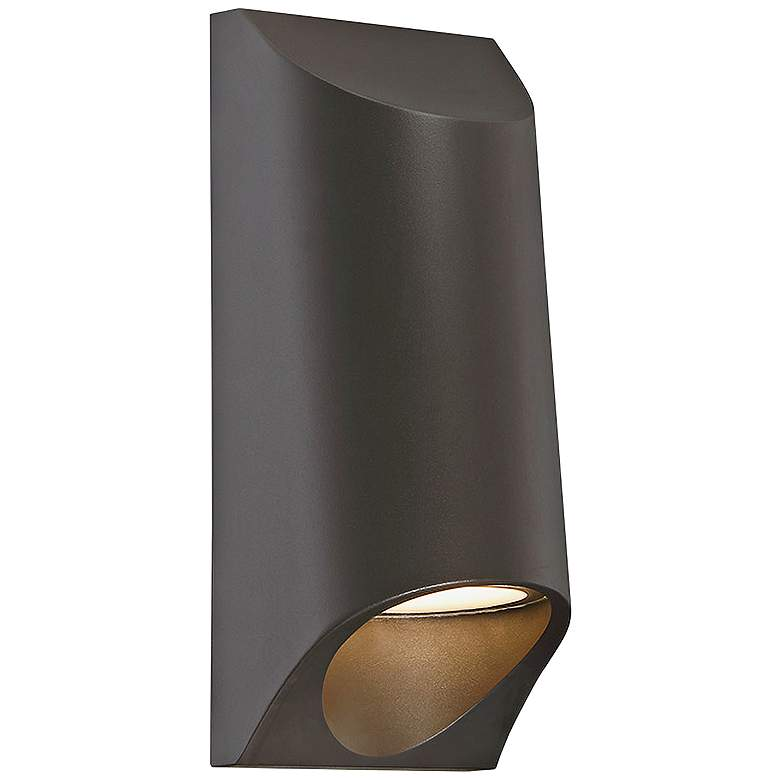 """Modern Forms Mega 11"""" High Bronze LED Outdoor"""