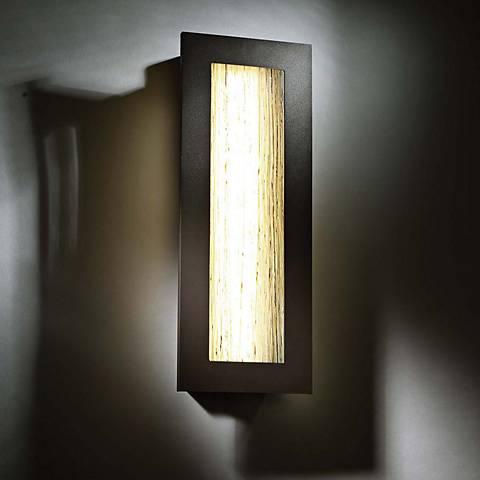 "Modern Forms Oath 18"" High Bronze LED Outdoor Wall Light"