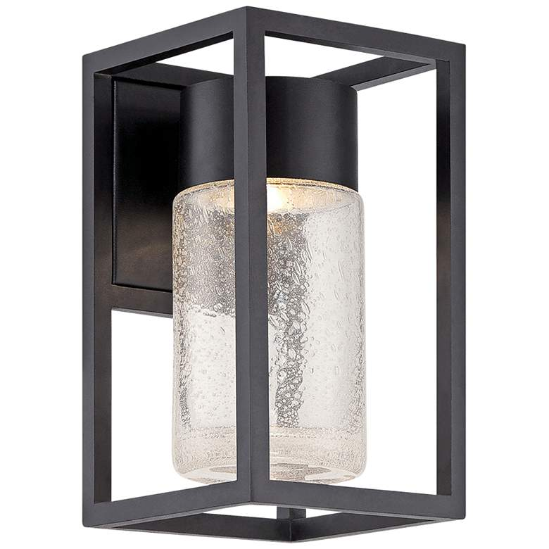 """Modern Forms Structure 11"""" High Black LED Outdoor"""