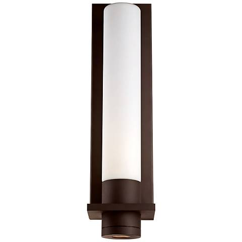 "Modern Forms Jedi 17 3/4"" High Bronze LED Outdoor Wall Light"
