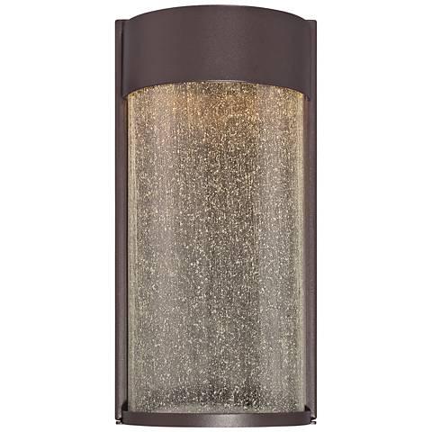 """Modern Forms Rain 12"""" High Bronze LED Outdoor Wall Light"""