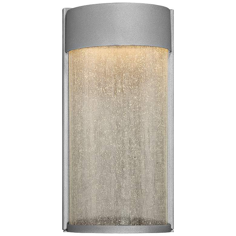 """Modern Forms Rain 12"""" High Graphite LED Outdoor Wall Light"""