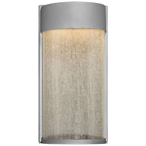 "Modern Forms Rain 12"" High Graphite LED Outdoor Wall Light"