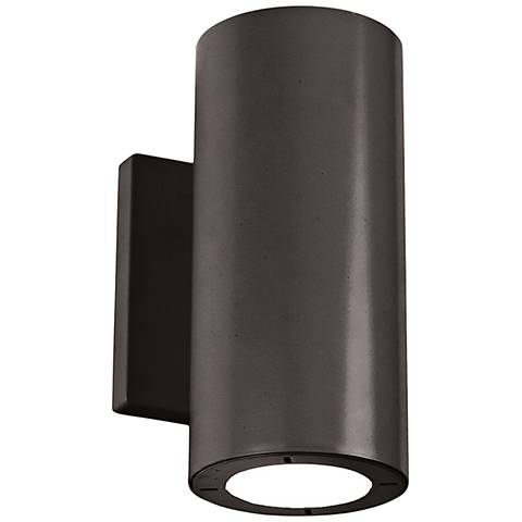 "Modern Forms Vessel 7 1/2""H Bronze LED Outdoor Wall Light"