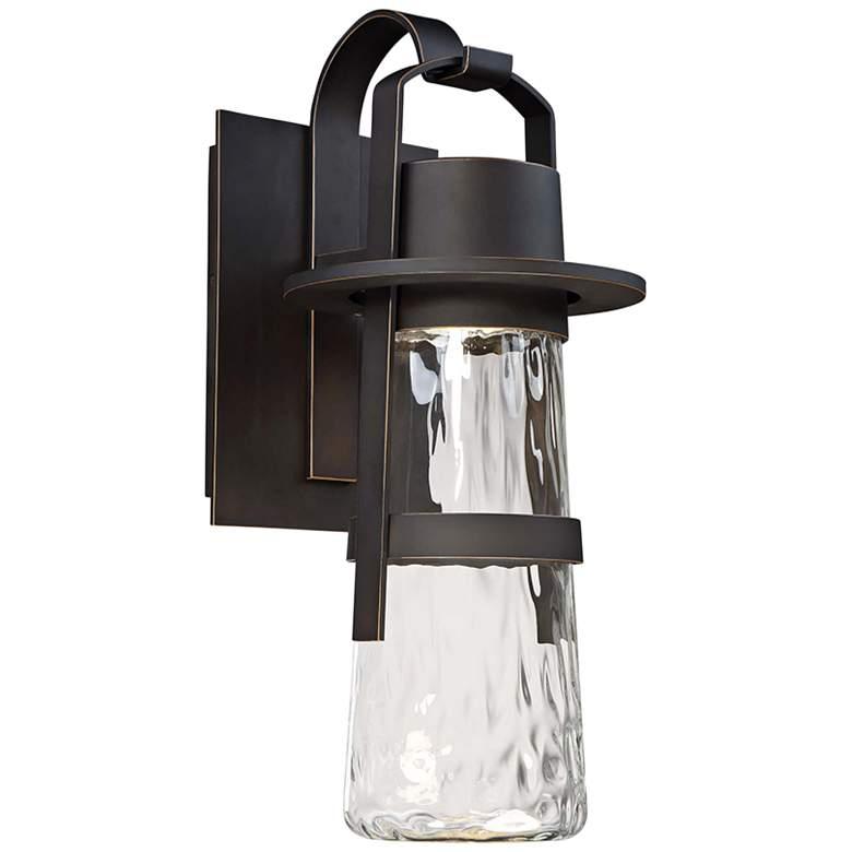 "Modern Forms Balthus 21"" High Bronze LED Outdoor Wall Light"
