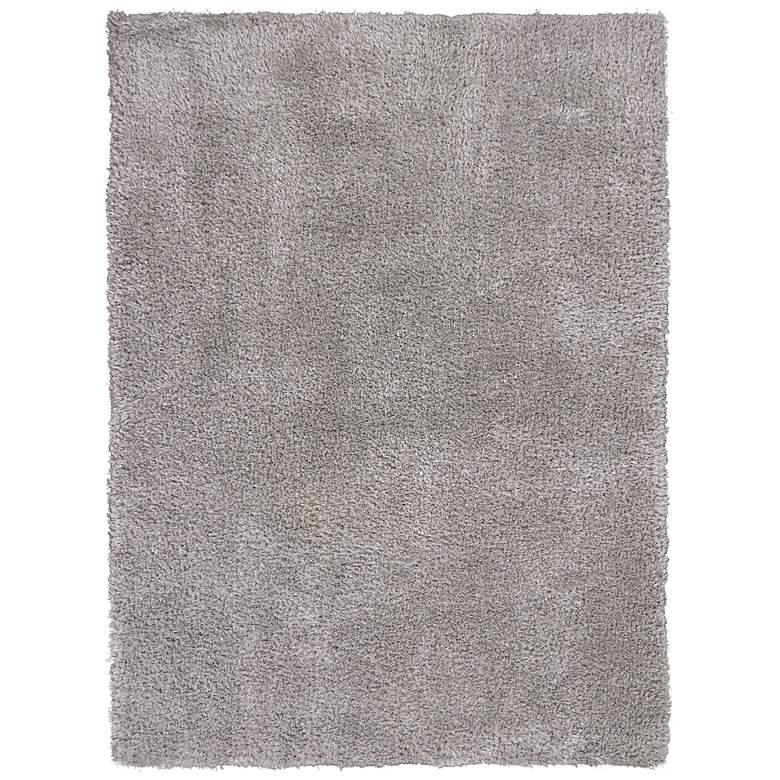 Luxe 1904 5'x7' Gray Shag Area Rug
