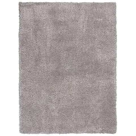 Luxe 1904 Gray Shag Area Rug