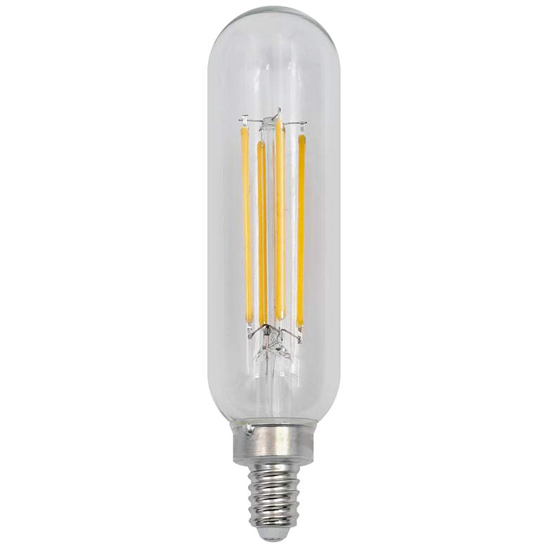 60w Equivalent Clear 5 5w Led Dimmable E12 Base T10 Bulb