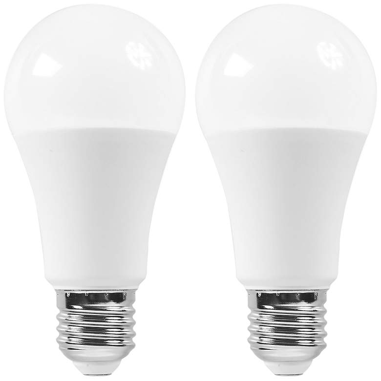 100W Equivalent Frosted 15W LED Non-Dimmable Standard 2-Pack