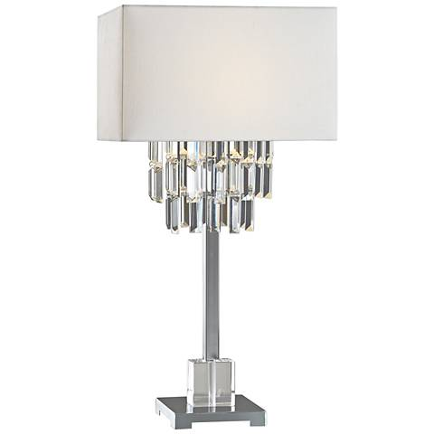 Uttermost Galaxia Metallic Gold Glaze Ceramic Table Lamp