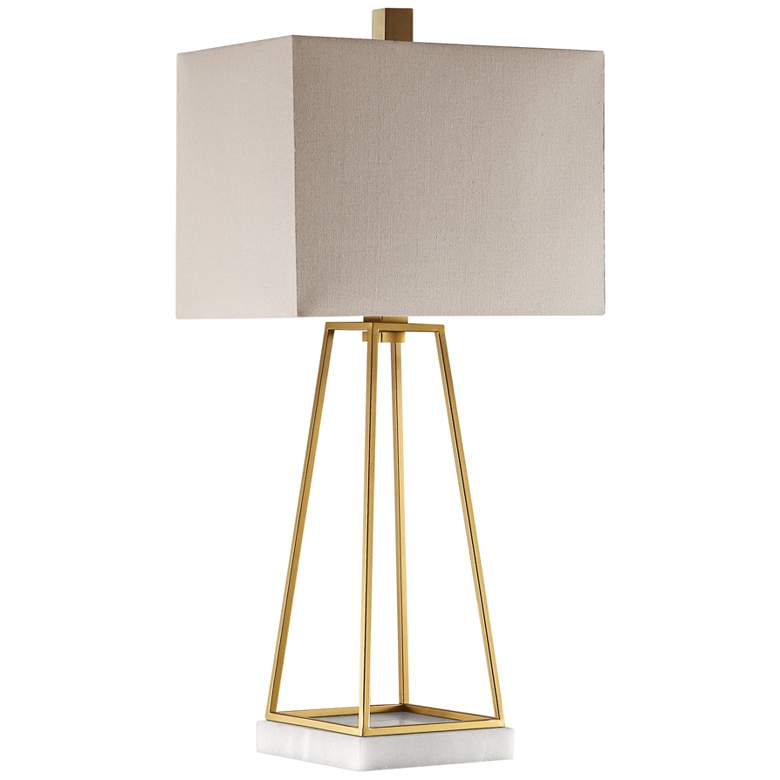 Uttermost Mackean Plated Metallic Gold Table Lamp