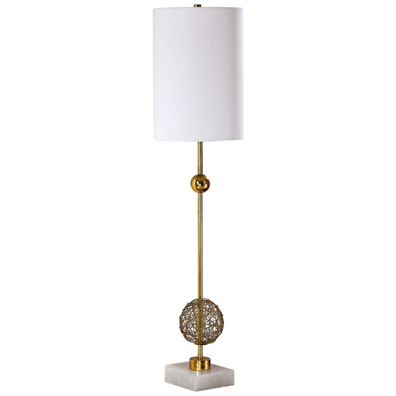 Uttermost Breckyn Metallic Antique Gold Buffet Table Lamp