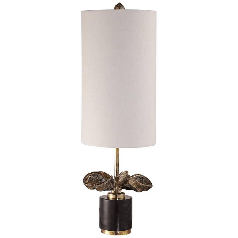Uttermost Sterculia Antique Gold Champagne Buffet Table Lamp
