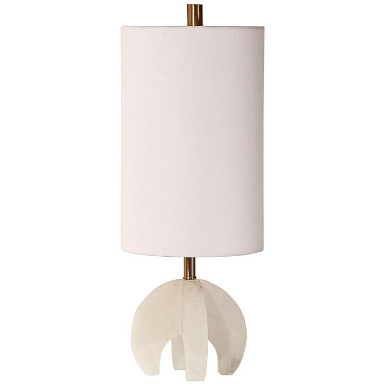 Uttermost Alanea Polished Alabaster Accent Buffet Table Lamp