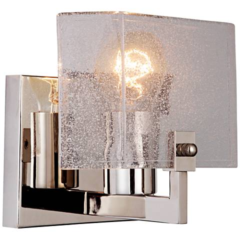 "Craftmade Trouvaille 6 1/2"" High Polished Nickel Wall Sconce"