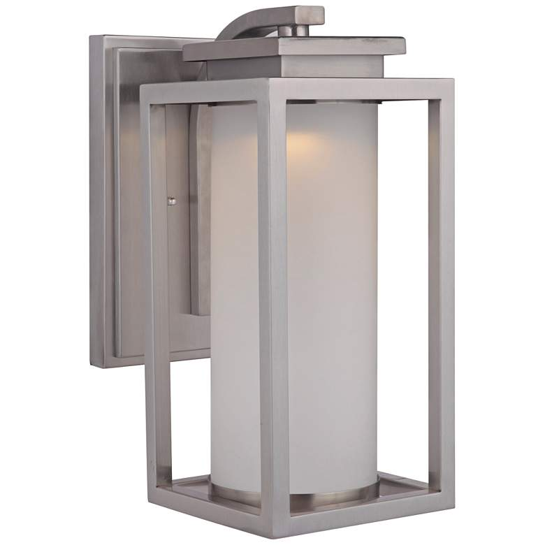 """Vailridge 15 1/2""""H Stainless Steel LED Outdoor Wall Light"""