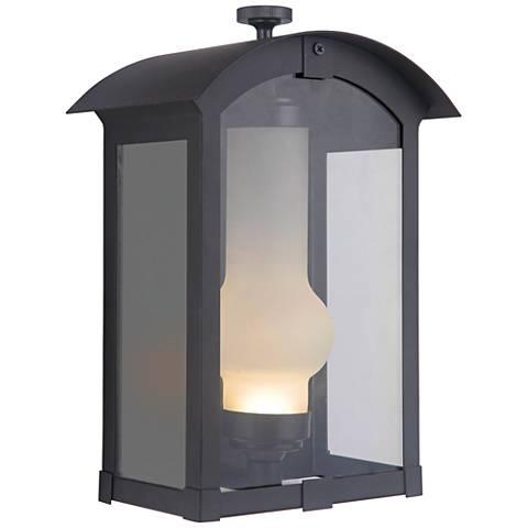 """Craftmade Montcrest 12"""" High Midnight LED Outdoor Wall Light"""